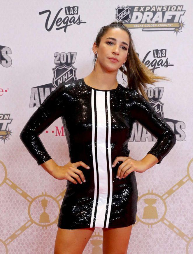 Aly Raisman - 2017 NHL Awards in Las Vegas