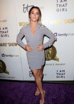 Aly Raisman - 2017 Womens Choice Awards - Los Angeles