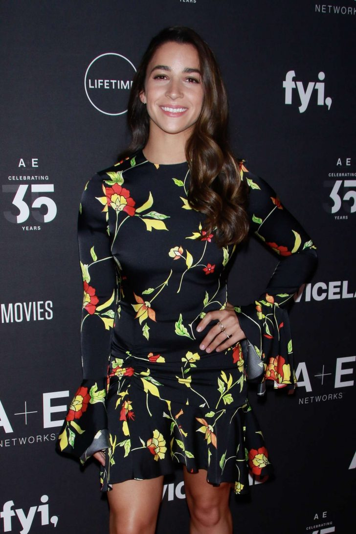 Aly Raisman - 2019 A+ E Networks Upfront in NYC