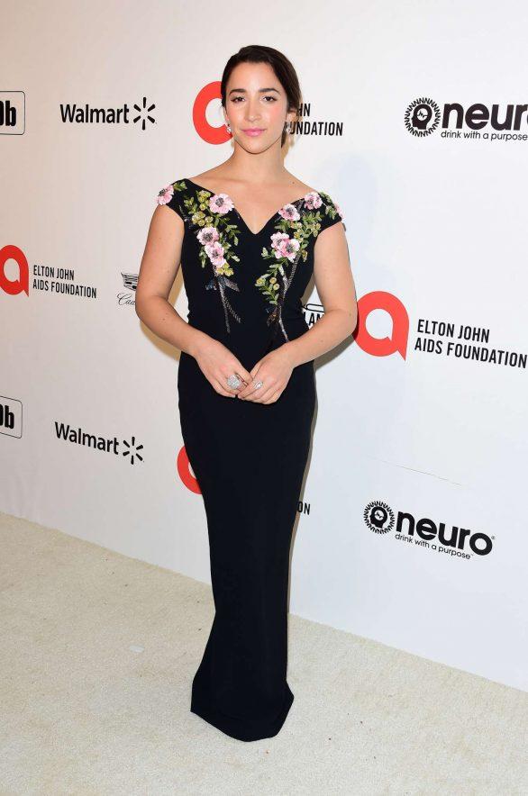 Aly Raisman - 2020 Elton John AIDS Foundation Oscar Viewing Party in LA