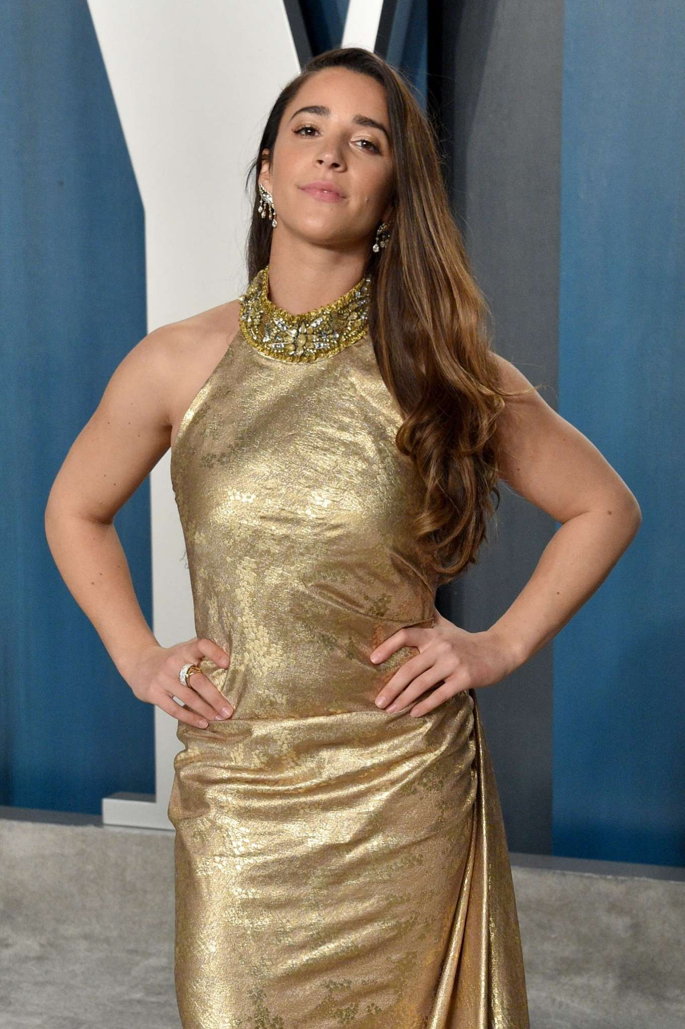 Aly Raisman - 2020 Vanity Fair Oscar Party in Beverly Hills