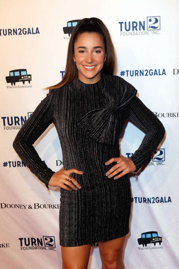 Aly Raisman - 23rd Annual Turn 2 Foundation Dinner Celebration in NYC