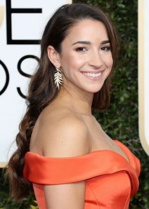 Aly Raisman - 74th Annual Golden Globe Awards in Beverly Hills