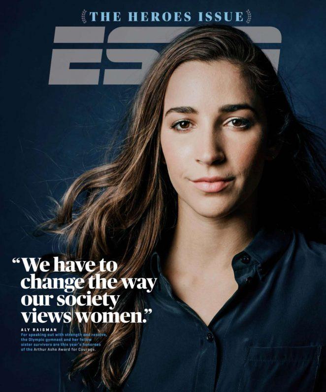 Aly Raisman - ESPN The Magazine (July 2018)