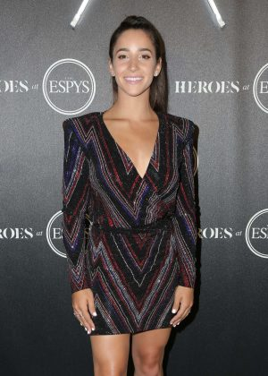 Aly Raisman - Heroes at The ESPYS Pre-Party in Los Angeles