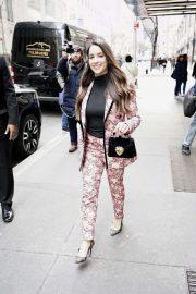 Aly Raisman - Leaving NBC Studios in NYC