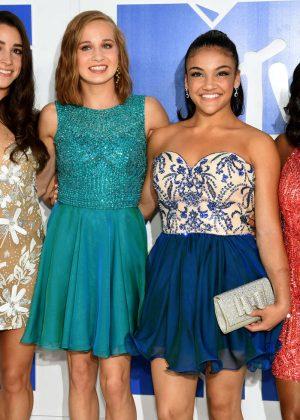 Aly Raisman, Madison Kocian, Laurie Hernandez and Simone Biles - 2016 MTV Video Music Awards in New York City