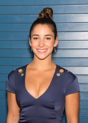 Aly Raisman - Pamella Roland Show during 2017 NYFW in NYC