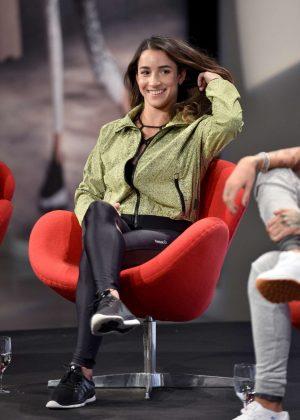 Aly Raisman - Reebok Never Perfect Revolution Panel in New York