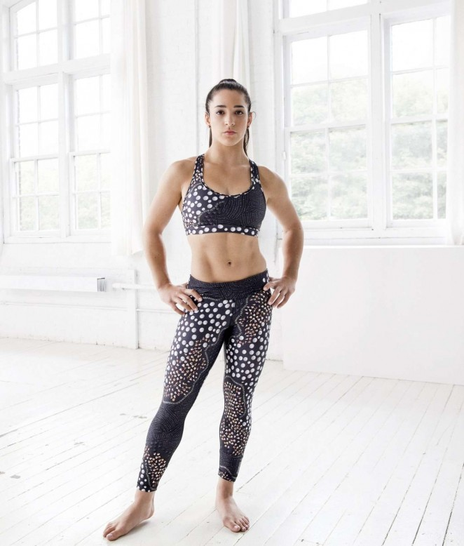 Aly Raisman - Reebok Photoshoot 2015