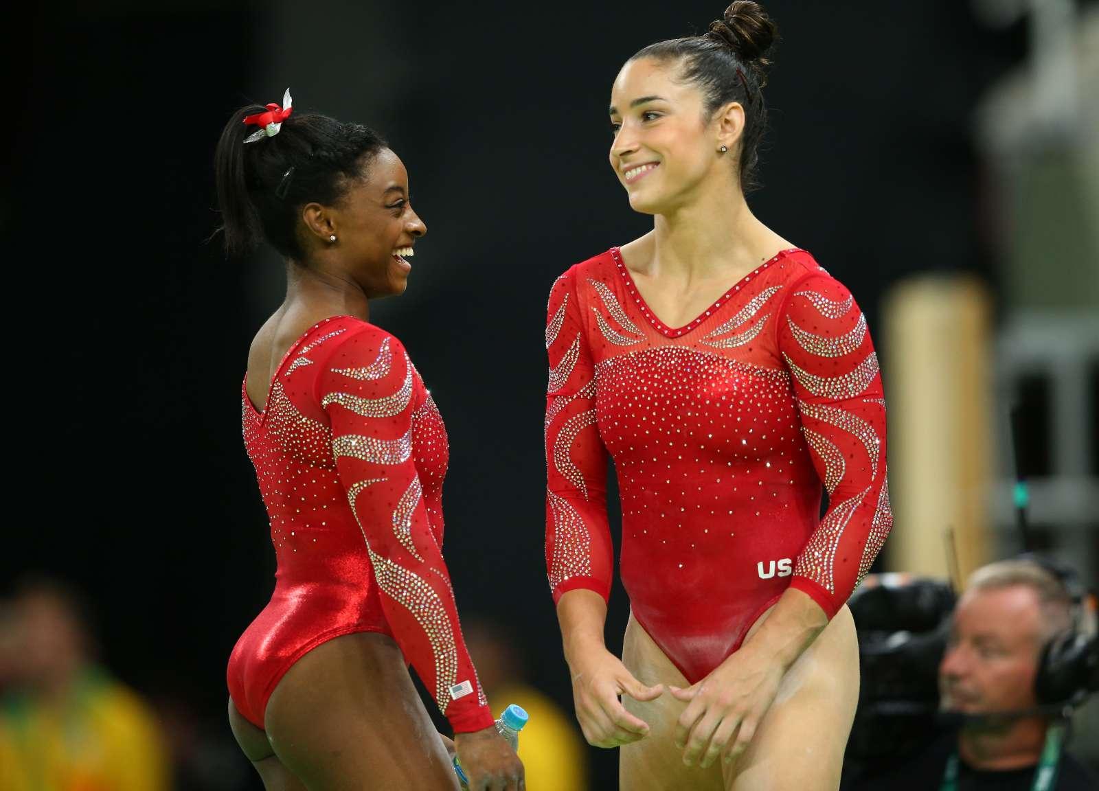 Aly Raisman - Rio 2016 Olympics Games: Podium Training