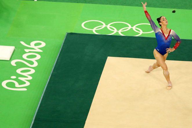 Aly Raisman: Rio 2016 Olympics Games: Womens Floor Finals in Rio de Janeiro 2016-04
