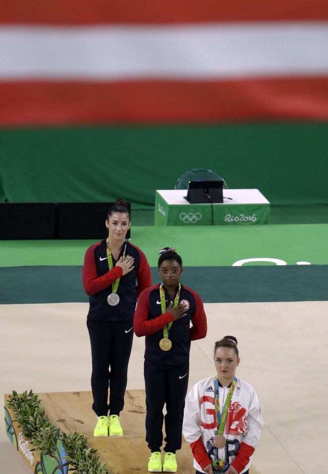 Aly Raisman Rio 2016 Olympics Games Womens Floor Finals