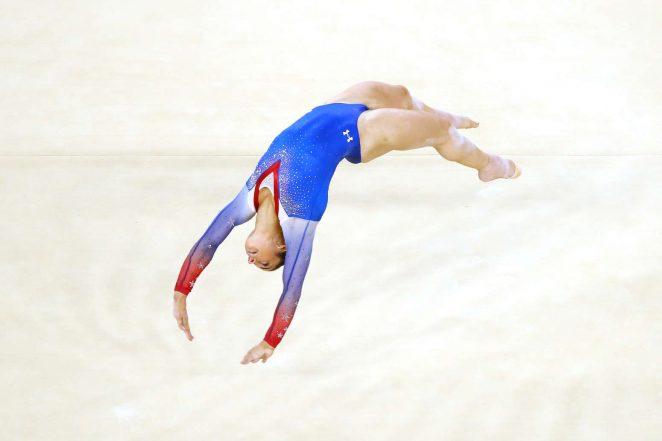 Aly Raisman: Rio 2016 Olympics Games: Womens Floor Finals in Rio de Janeiro 2016-09