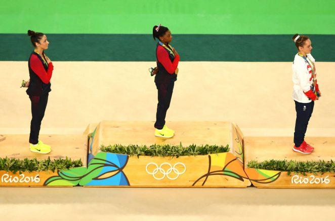 Aly Raisman: Rio 2016 Olympics Games: Womens Floor Finals in Rio de Janeiro 2016-12