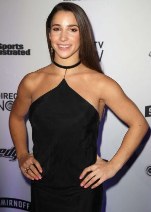 Aly Raisman - Sports Illustrated Swimsuit Edition Launch Event in NY