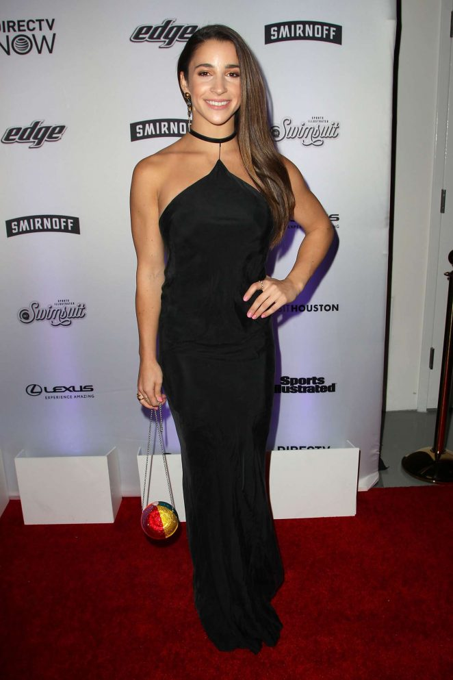 Aly Raisman: Sports Illustrated Swimsuit Edition Launch Event -14