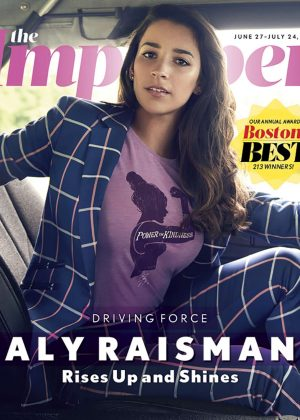 Aly Raisman - The Improper Bostonian (June 2018)