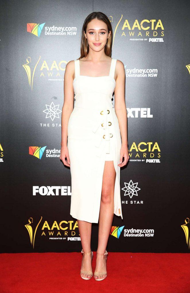 Alycia Debnam Carey -2016 AACTA Awards The Star Event Center in Sidney