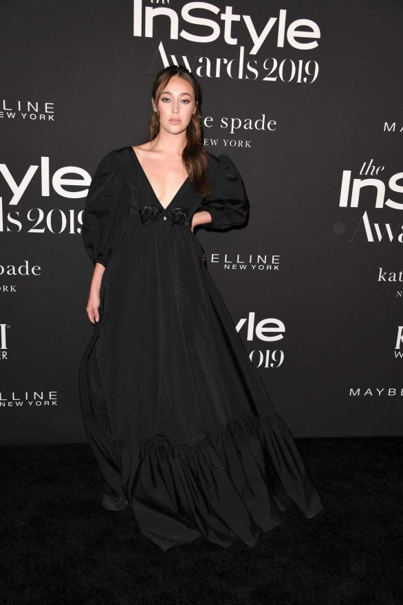 Alycia Debnam-Carey - 2019 InStyle Awards in Los Angeles