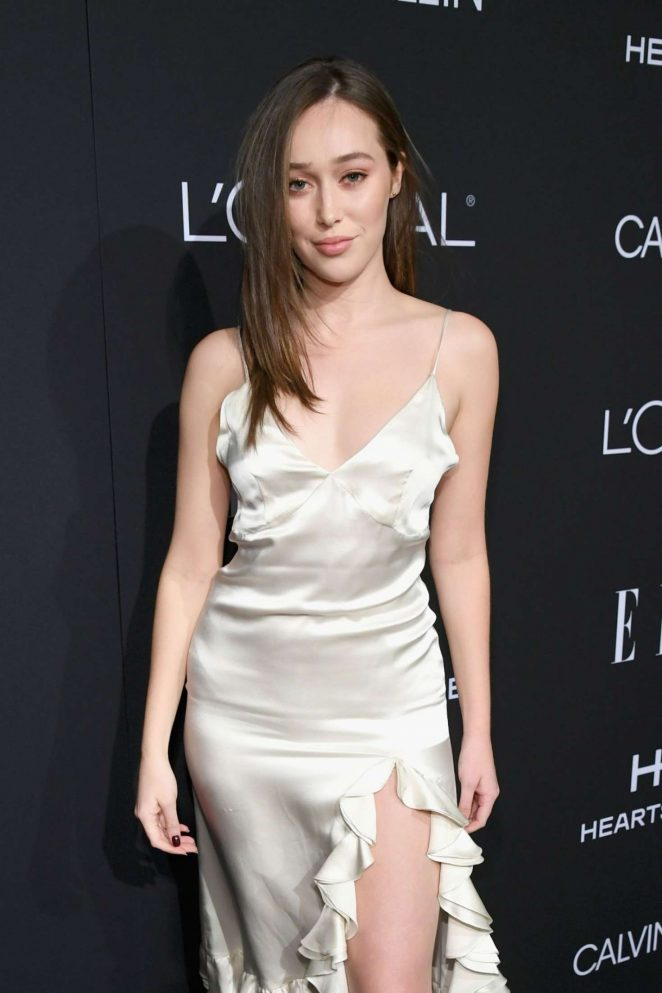 Alycia Debnam-Carey - ELLE's 25th Women in Hollywood Celebration in LA