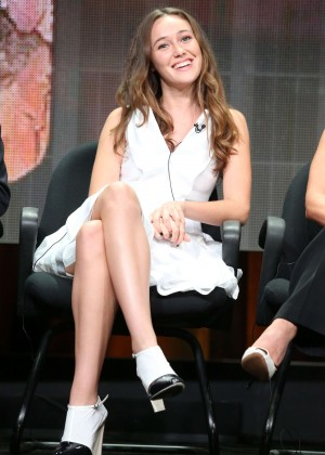 Alycia Debnam Carey Fear The Walking Dead At 2015 Summer