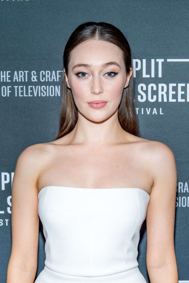 Alycia Debnam-Carey - 'Fear The Walking Dead' Season 5 Premiere in NYC
