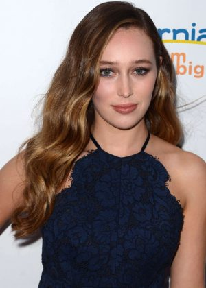 Alycia Debnam-Carey - Heath Ledger Scholarship Dinner in Beverly Hills