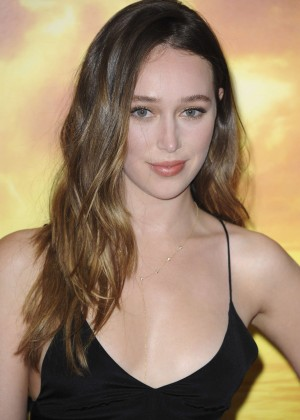 Alycia Debnam Carey - 'The Walking Dead' Premiere in Los Angeles