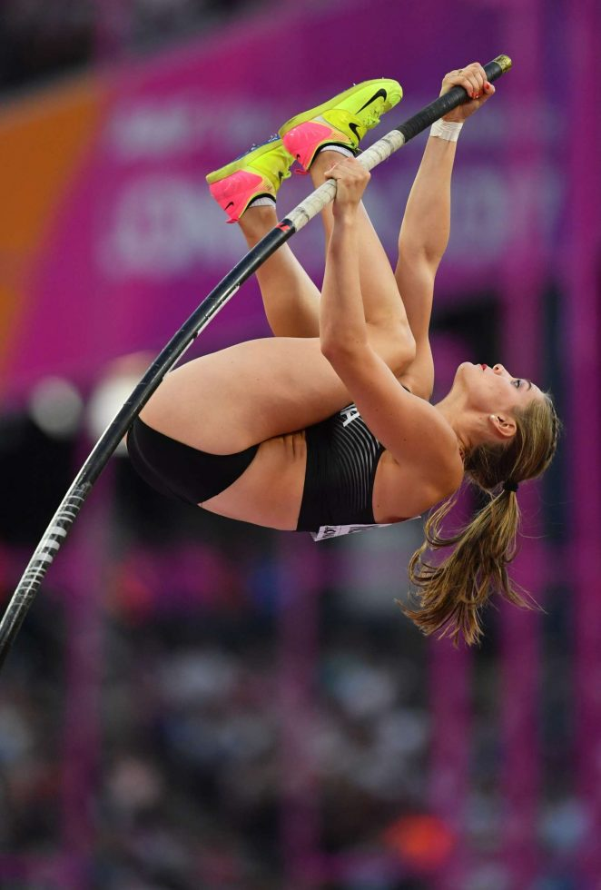 Alysha Newman - Women's Pole Vault Final at 2017 IAAF World Championships in London