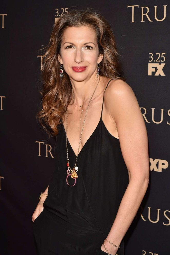 Alysia Reiner - 2018 FX All-Star Party in New York