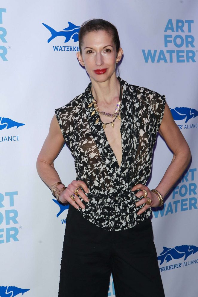 Alysia Reiner - Art For Water benefitting Waterkeeper Alliance Charity in NY