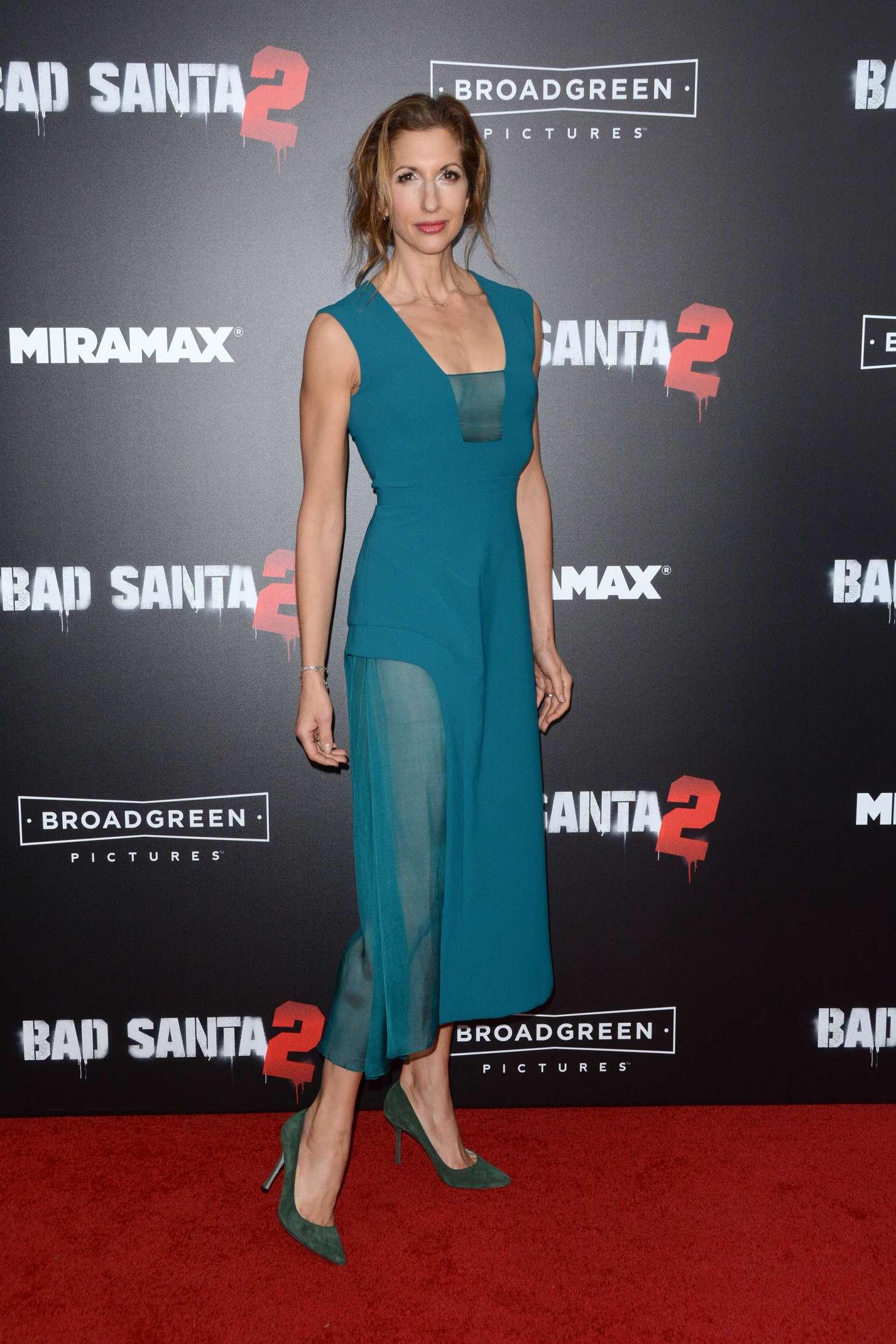 Alysia Reiner - 'Bad Santa 2' Premiere in New York