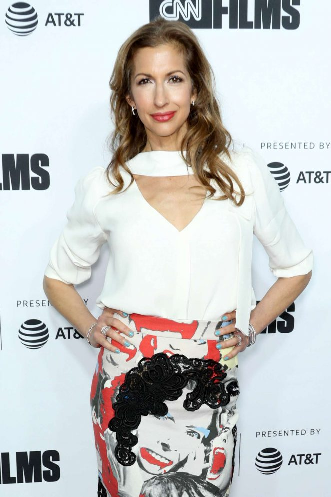 Alysia Reiner - 'Love, Gilda' Premiere at 2018 Tribeca Film Festival in NYC