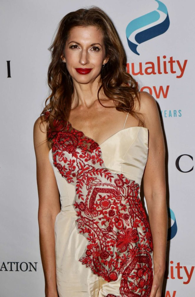 Alysia Reiner - Make Equality Reality Gala in New York