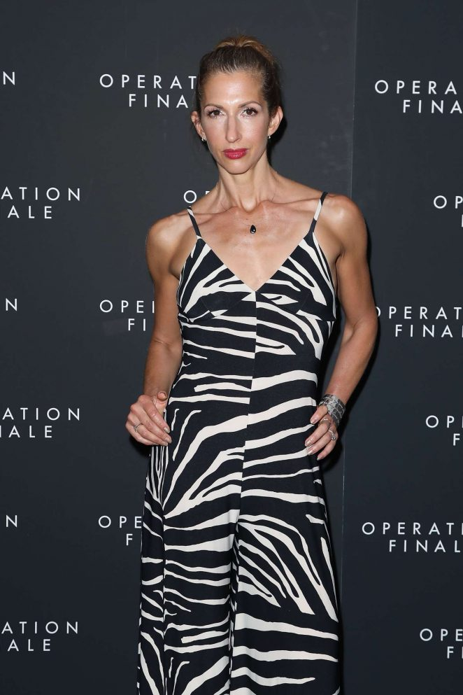 Alysia Reiner - 'Operation Finale' Premiere in New York