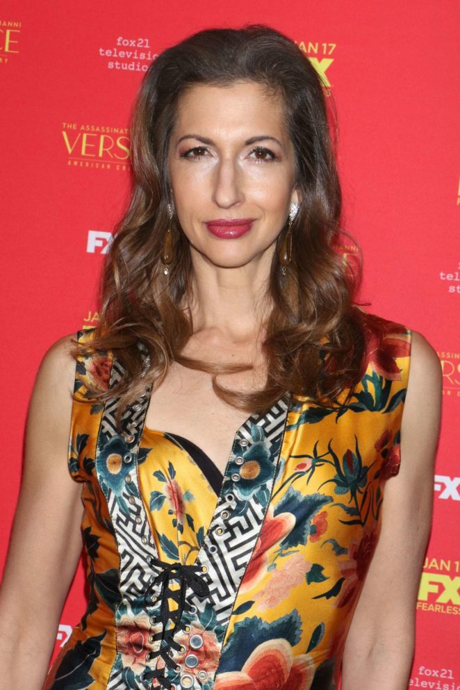 Alysia Reiner - 'The Assassination of Gianni Versace' Premiere in NY