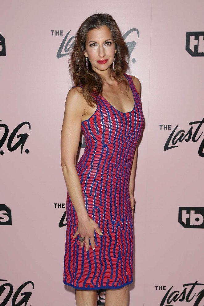 Alysia Reiner - 'The Last O.G.' TV Show Premiere in New York