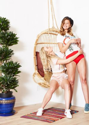 Alyson Aly and Amanda AJ Michalka - 2017 Playboy Photoshoot