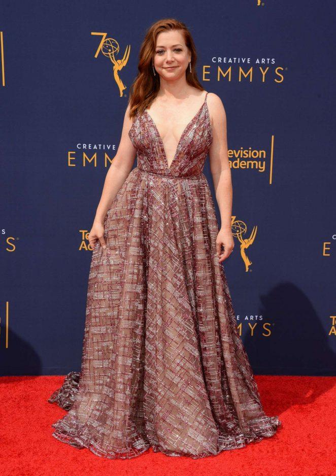 Alyson Hannigan - 2018 Primetime Creative Arts Emmy Awards in Los Angeles