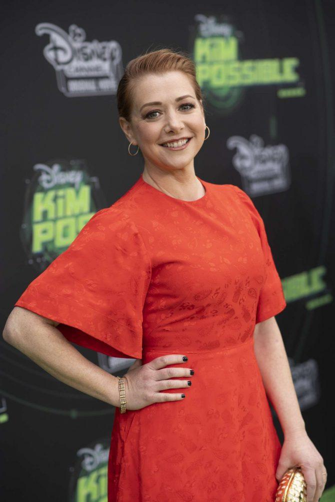 Alyson Hannigan - 'Kim Possible' Premiere in Los Angeles