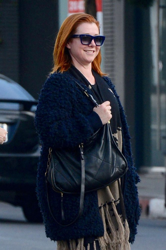 Alyson Hannigan out shopping in West Hollywood