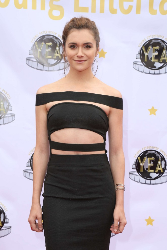 Alyson Stoner - 1st annual Young Entertainer Awards in Universal City