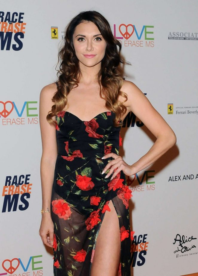 Alyson Stoner - 2018 Race to Erase MS Gala in Los Angeles