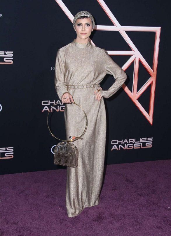 Alyson Stoner - 'Charlie's Angels' Premiere in Westwood