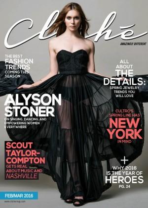 Alyson Stoner: Cliche Magazine 2016 -02