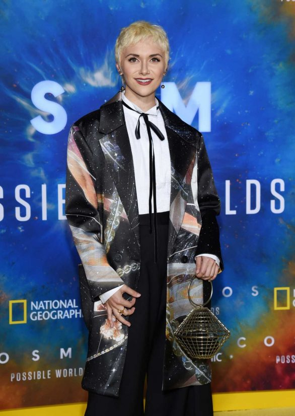 Alyson Stoner - National Geographic's 'Cosmos: Possible Worlds' Premiere in Westwood