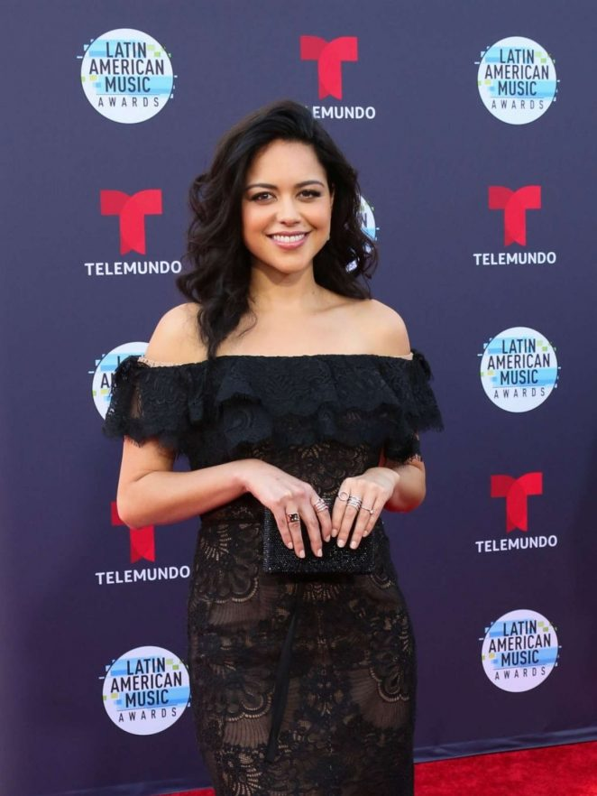 Alyssa Diaz - 2018 Latin American Music Awards in Los Angeles