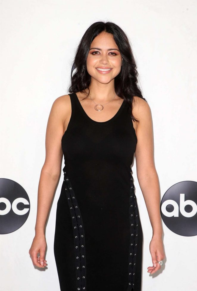 Alyssa Diaz - ABC All-Star Happy Hour at 2018 TCA Summer Press Tour in LA