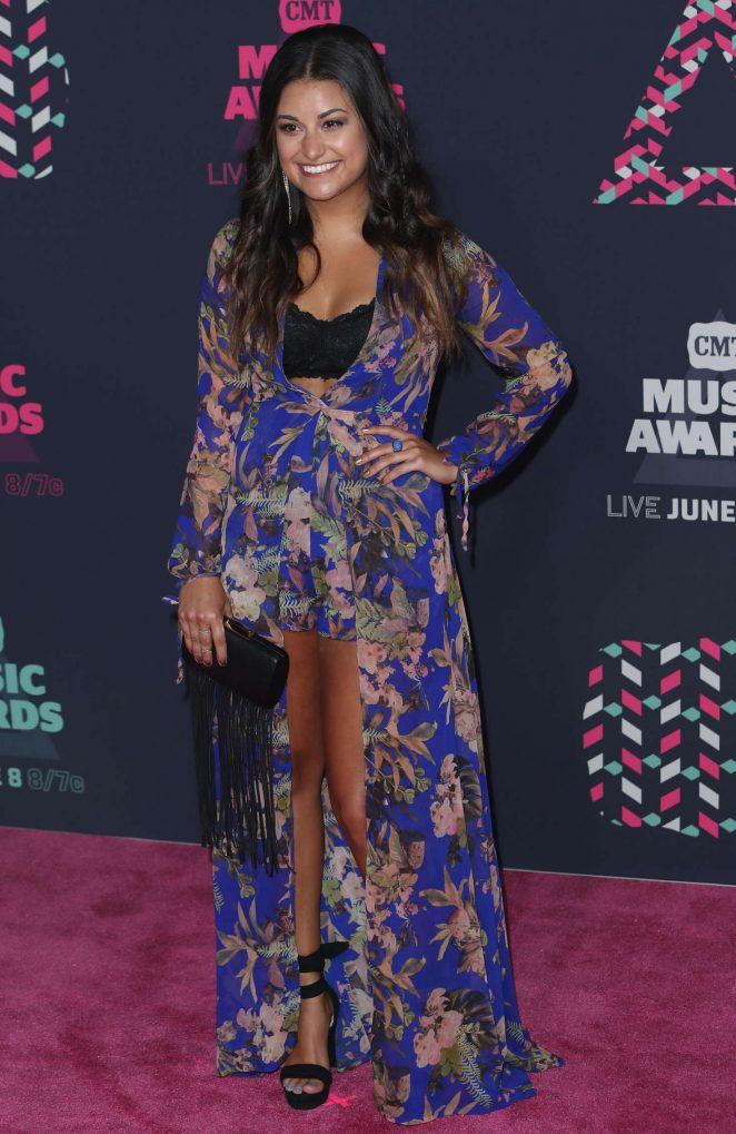 Alyssa Micaela - CMT Music Awards 2016 in Nashville